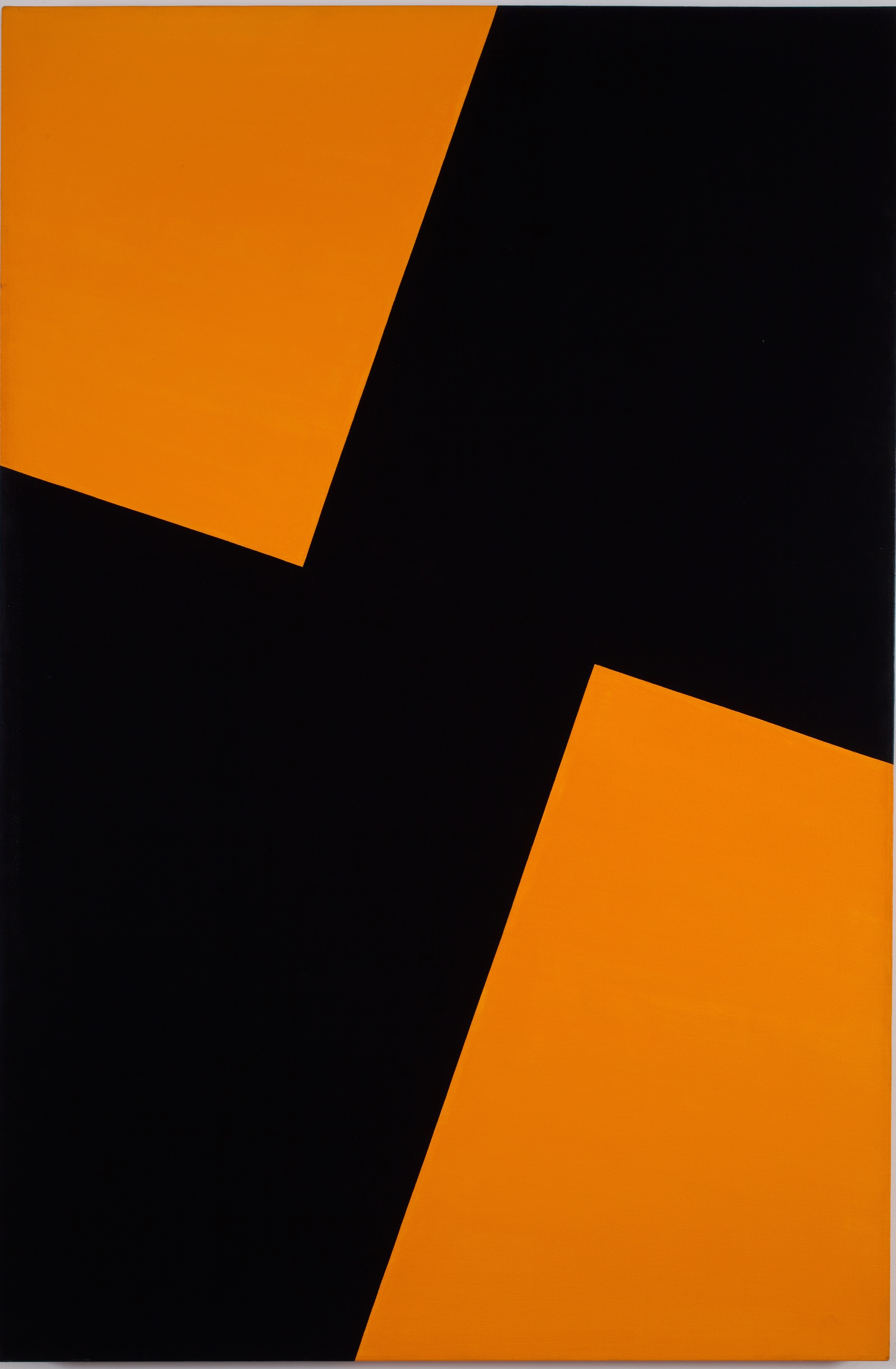 Carmen Herrera, Friday, 1978. Acrylic on canvas , 62 x 42 in. (157.5 x 106.7 cm). Courtesy the artist and Lisson Gallery © Carmen Herrera