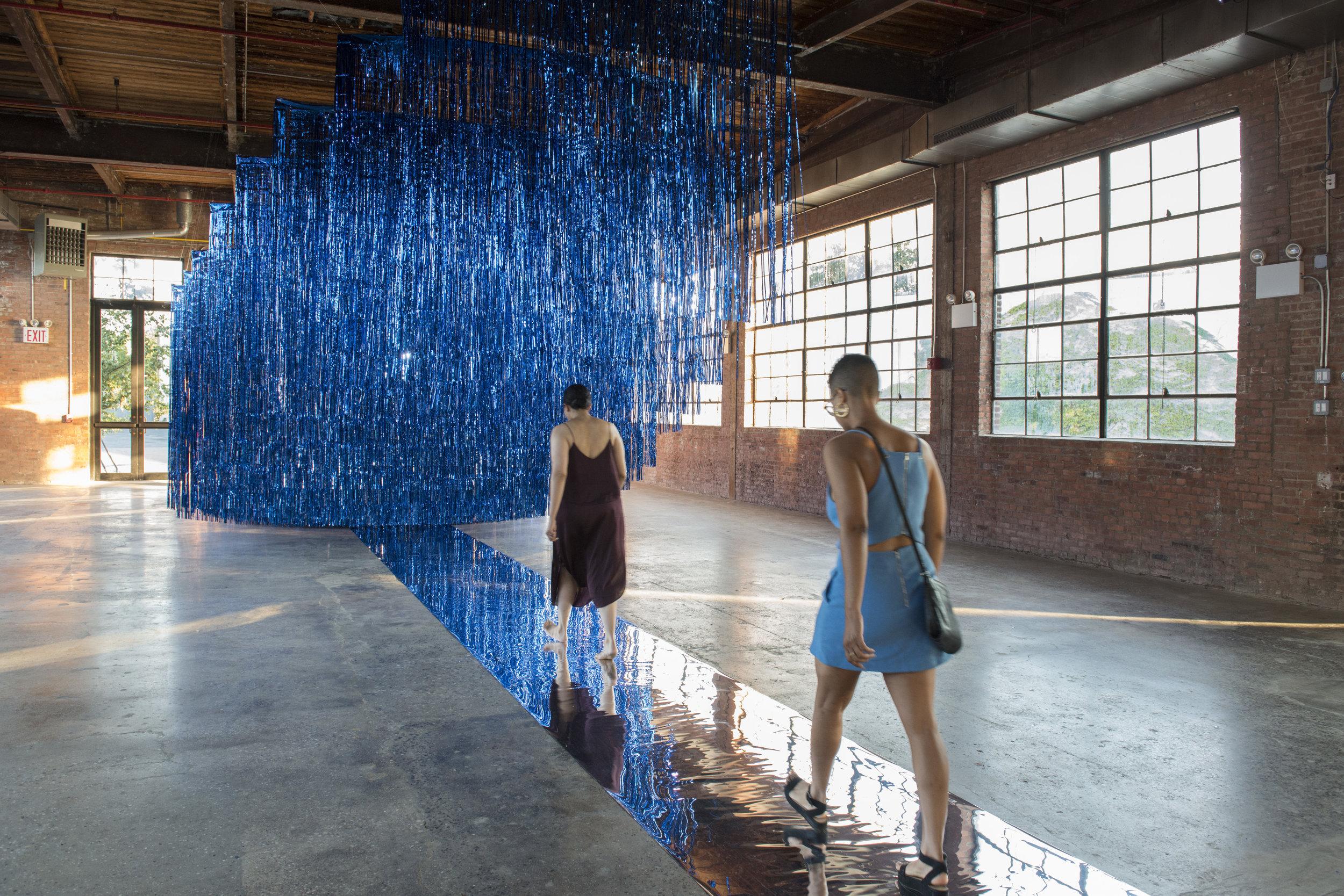 Aya Rodriguez-Izumi's 'Offering' (2016) at the MAMI exhibit. Photo: Kearra Amaya Gopee