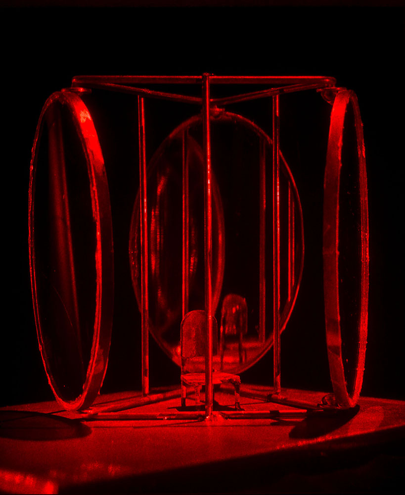 Louise Bourgeois,UNTITLED (detail), 1998-2014,Suite of 8 Holograms,Each about 11 x 14 in 27.9 x 35.6 cm.Photo: Matthew Schreiber, © The Easton Foundation/Licensed by VAGA, NY.