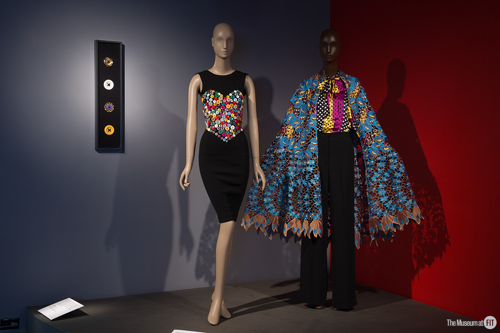 Installation view of Black Fashion Designers, Museum at FIT. Photo: Eileen Costa