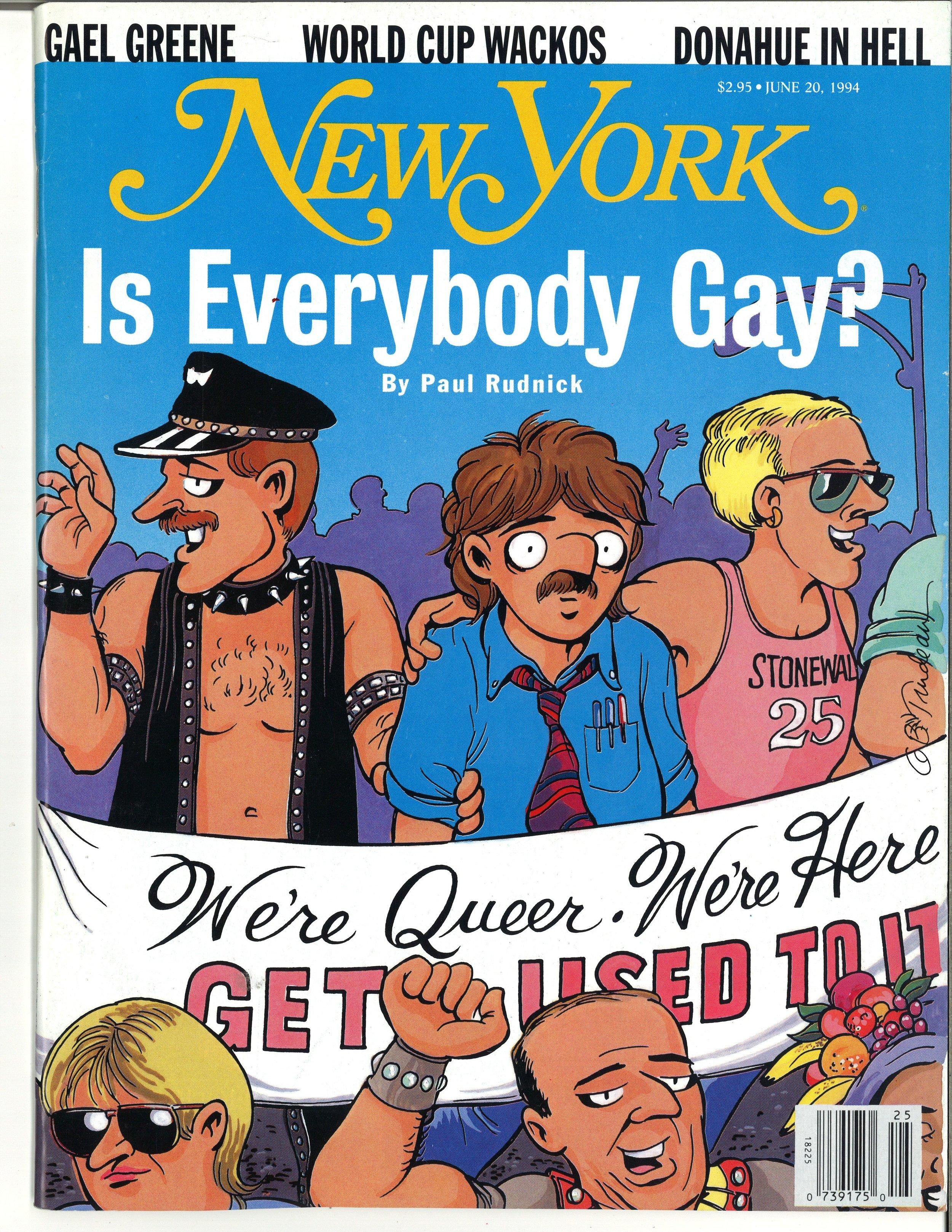 New York Magazine,June 20, 19941994Courtesy New York Magazine