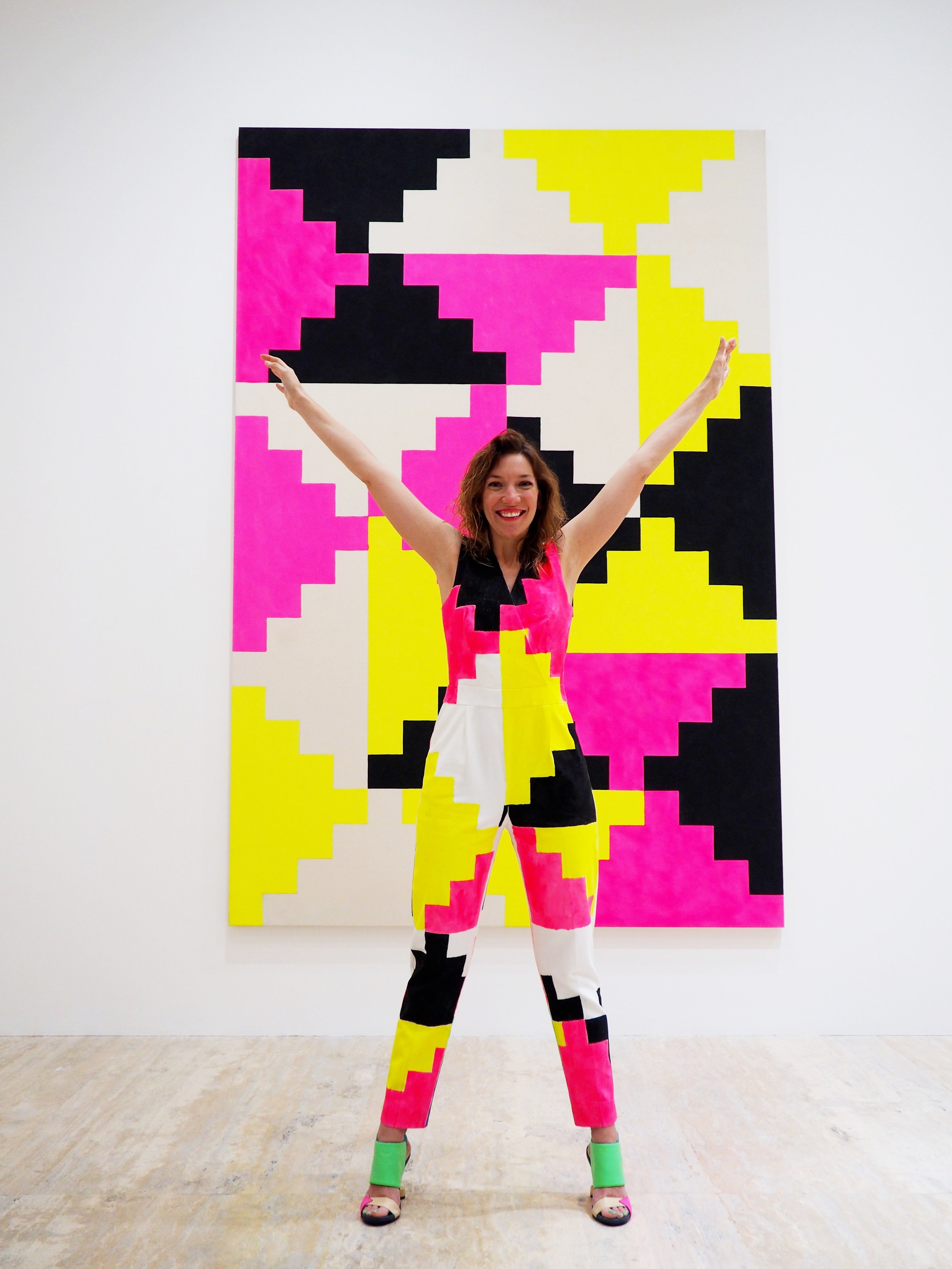 Artfully Awear x Museo Jumex.Courtesy of Ariel Adkins.