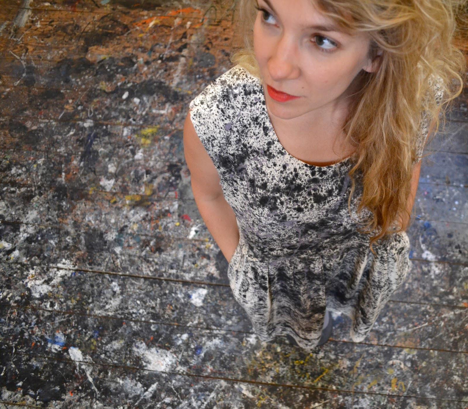 Artfully Awear x Jackson Pollock Studio.Courtesy of Ariel Adkins.