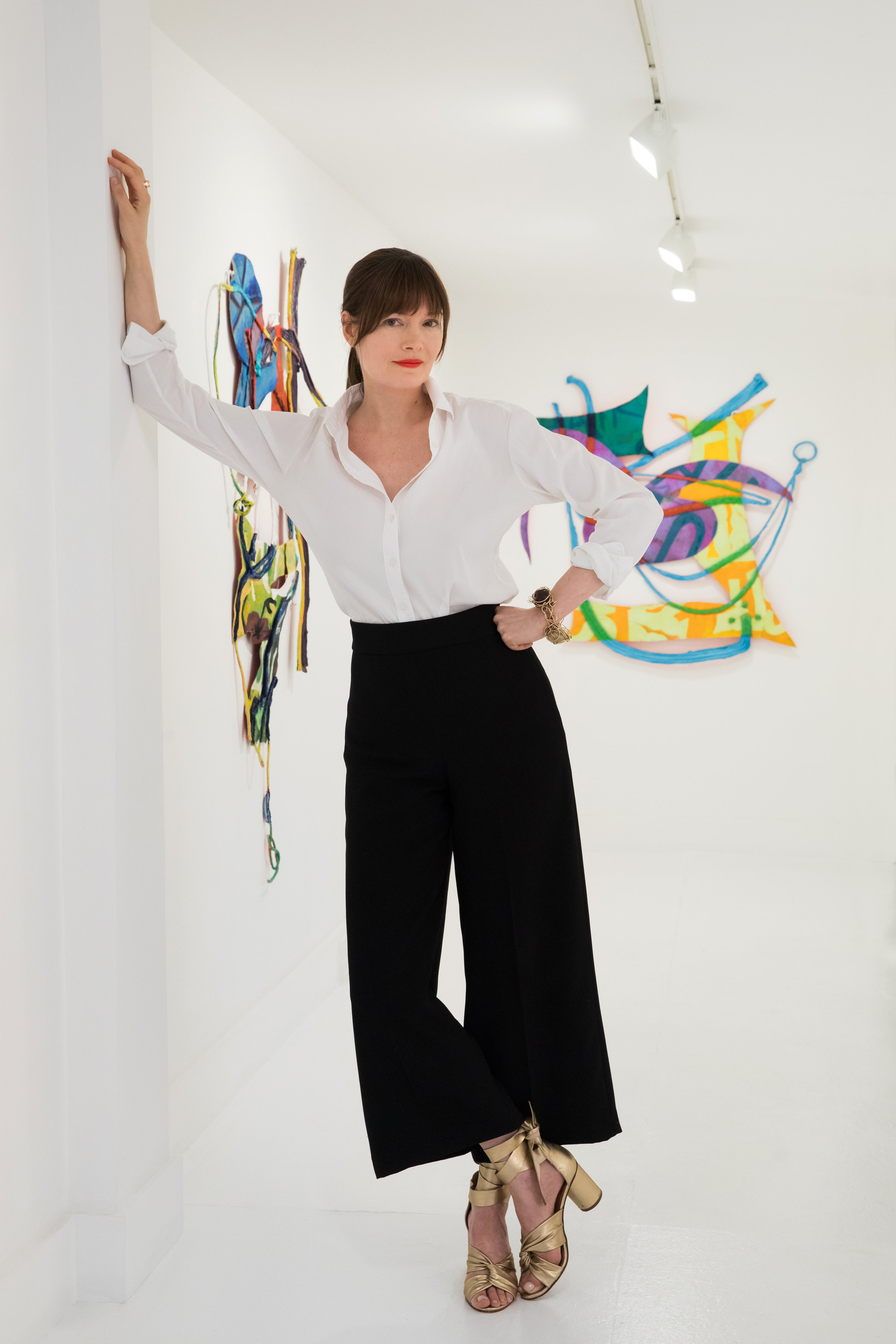 TURN Gallery Founder Annika Peterson. Photo: Jenny Gorman