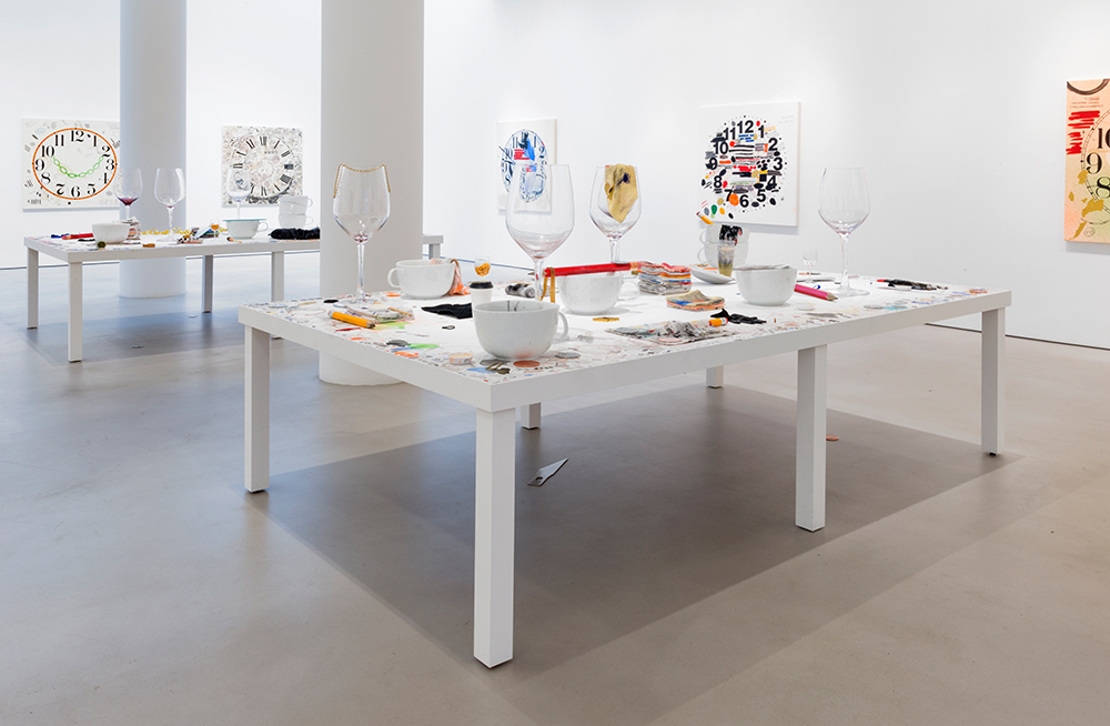 Amanda Ross-Ho, MY PEN IS HUGE . Installation view. Courtesy of the artist and Mitchell-Innes & Nash, NY.