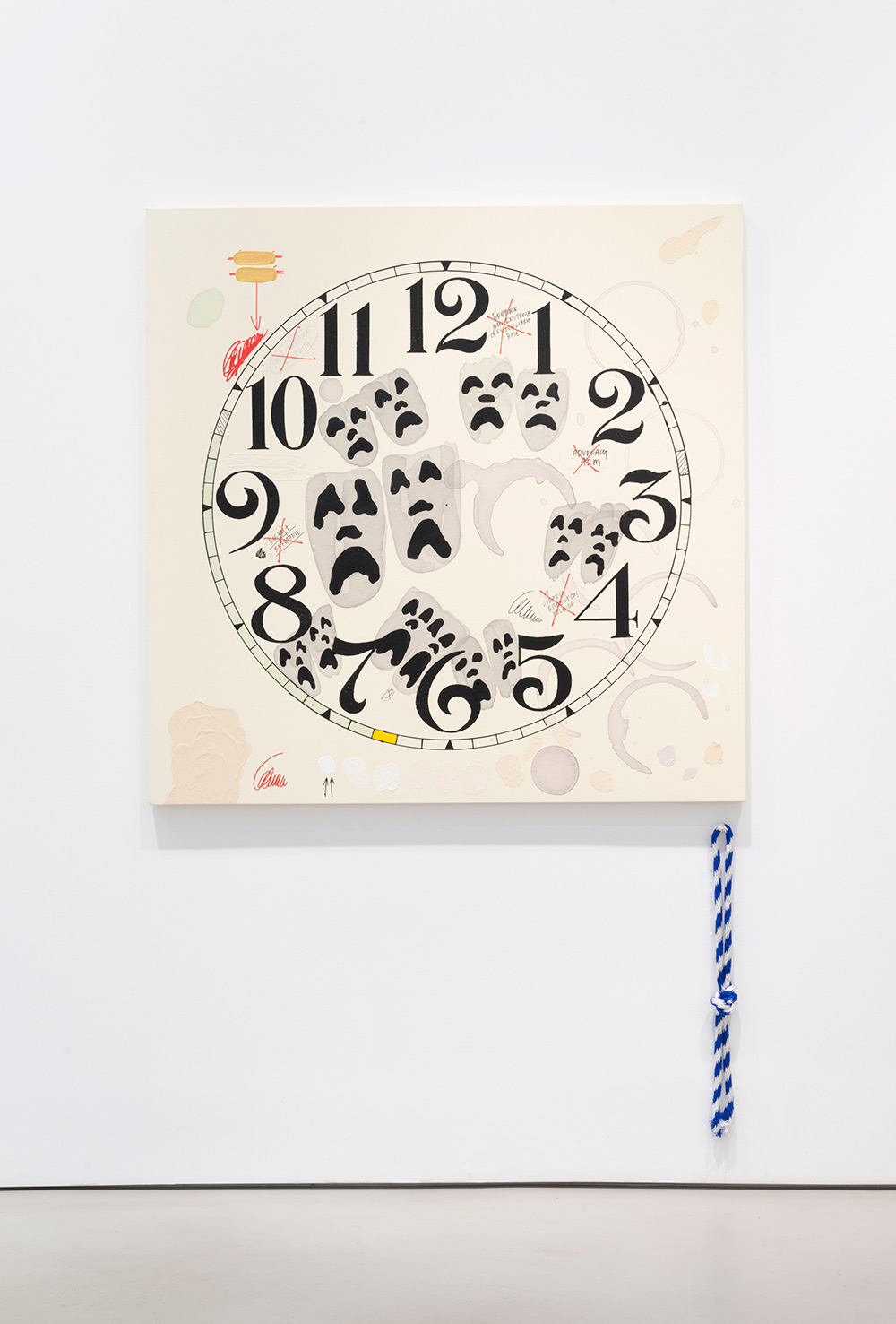 Amanda Ross-Ho, MY PEN IS HUGE . Courtesy of the artist and Mitchell-Innes & Nash, NY.