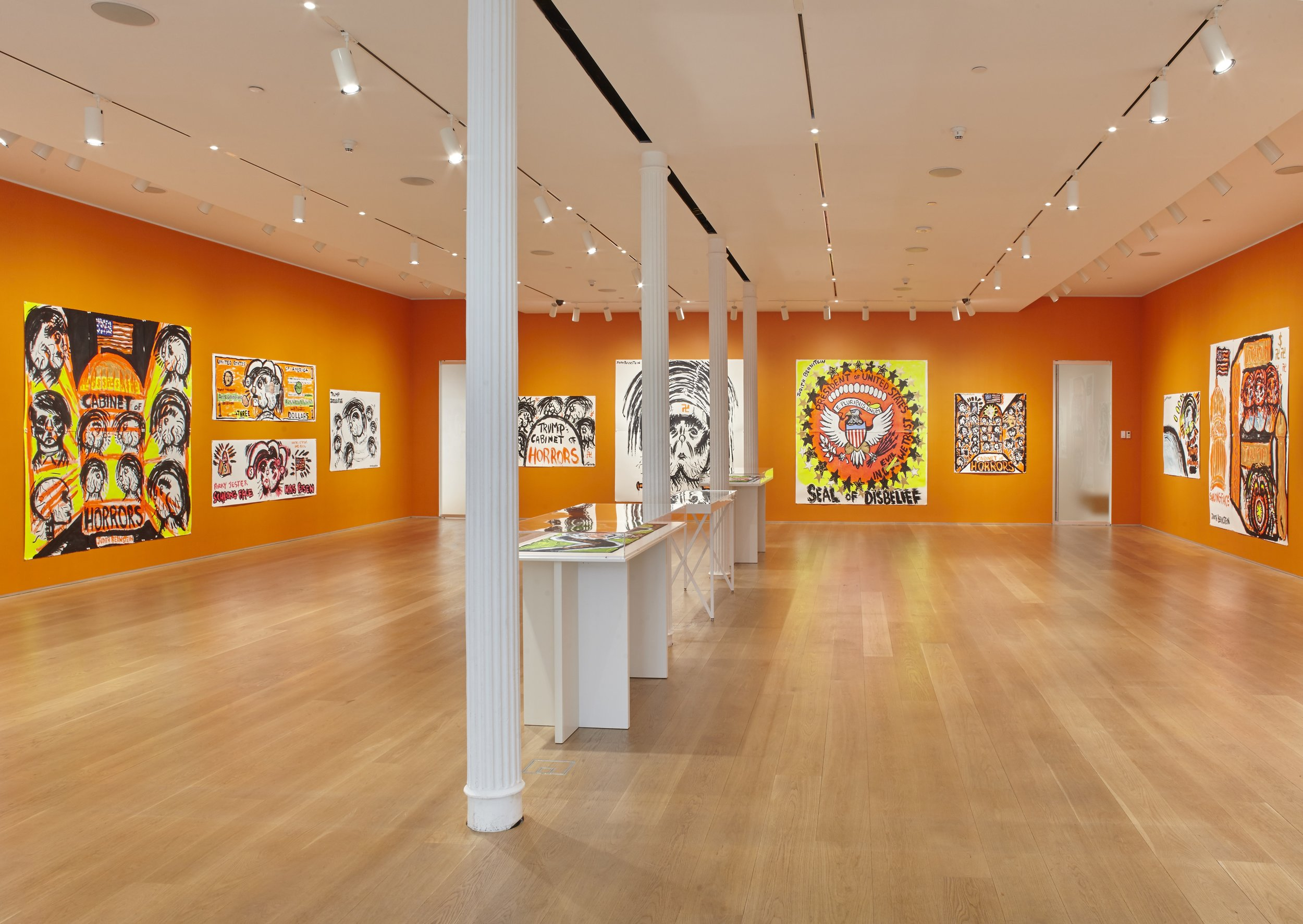 Installation view. Courtesy of The Drawing Center. Photos by Mark Parsekian.
