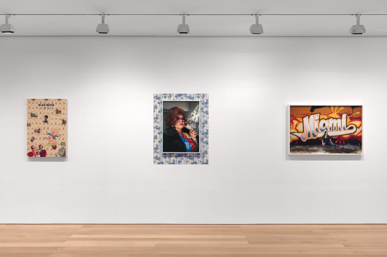 Installation view, Genevieve Gaignard: Counterfeit Currency, 2018, The FLAG Art Foundation. Photo Steven Probert.