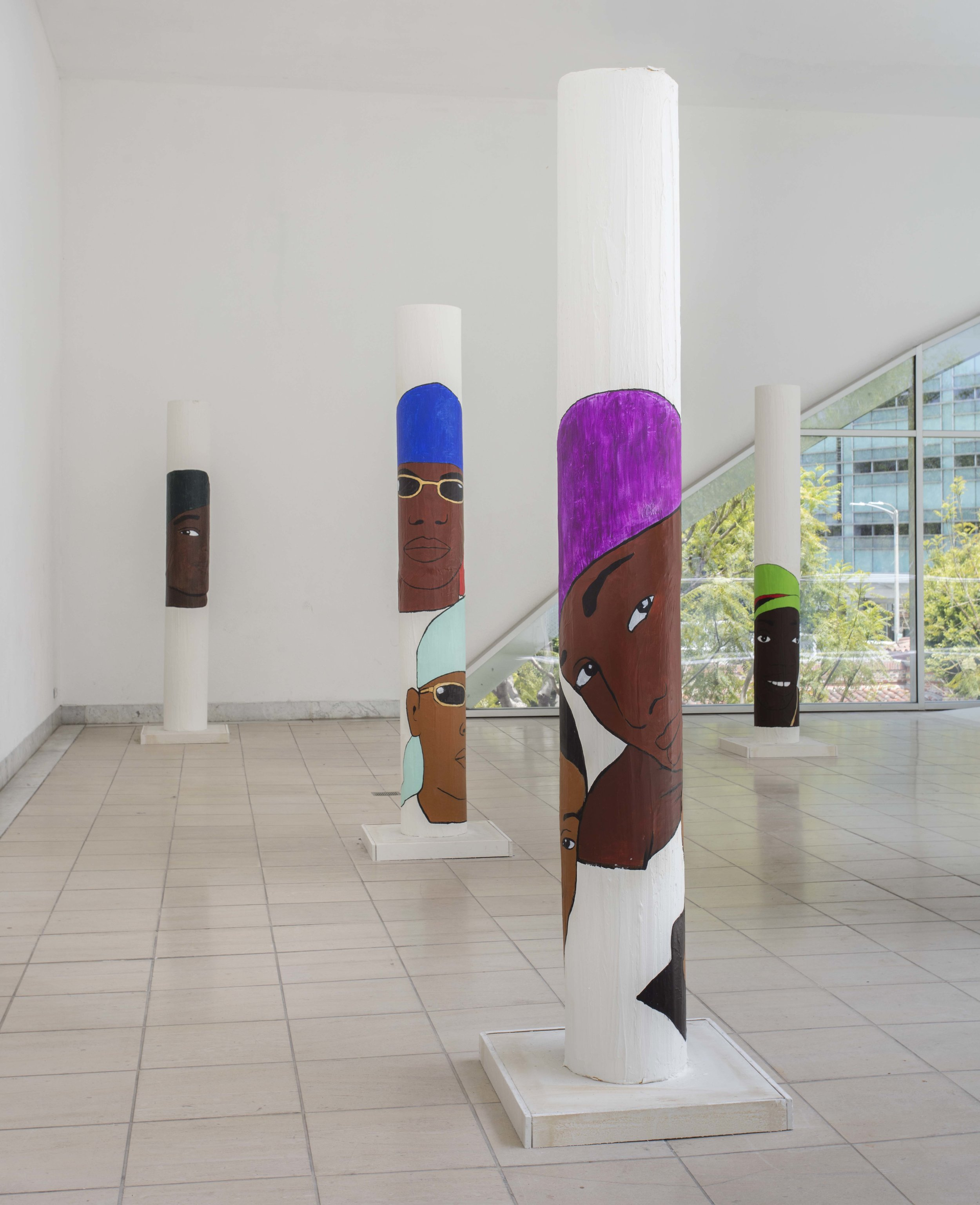 Lauren Halsey, Installation view, Made in L.A. 2018, June 3-September 2, 2018, Hammer Museum, Los Angeles. Photo: Brian Forrest