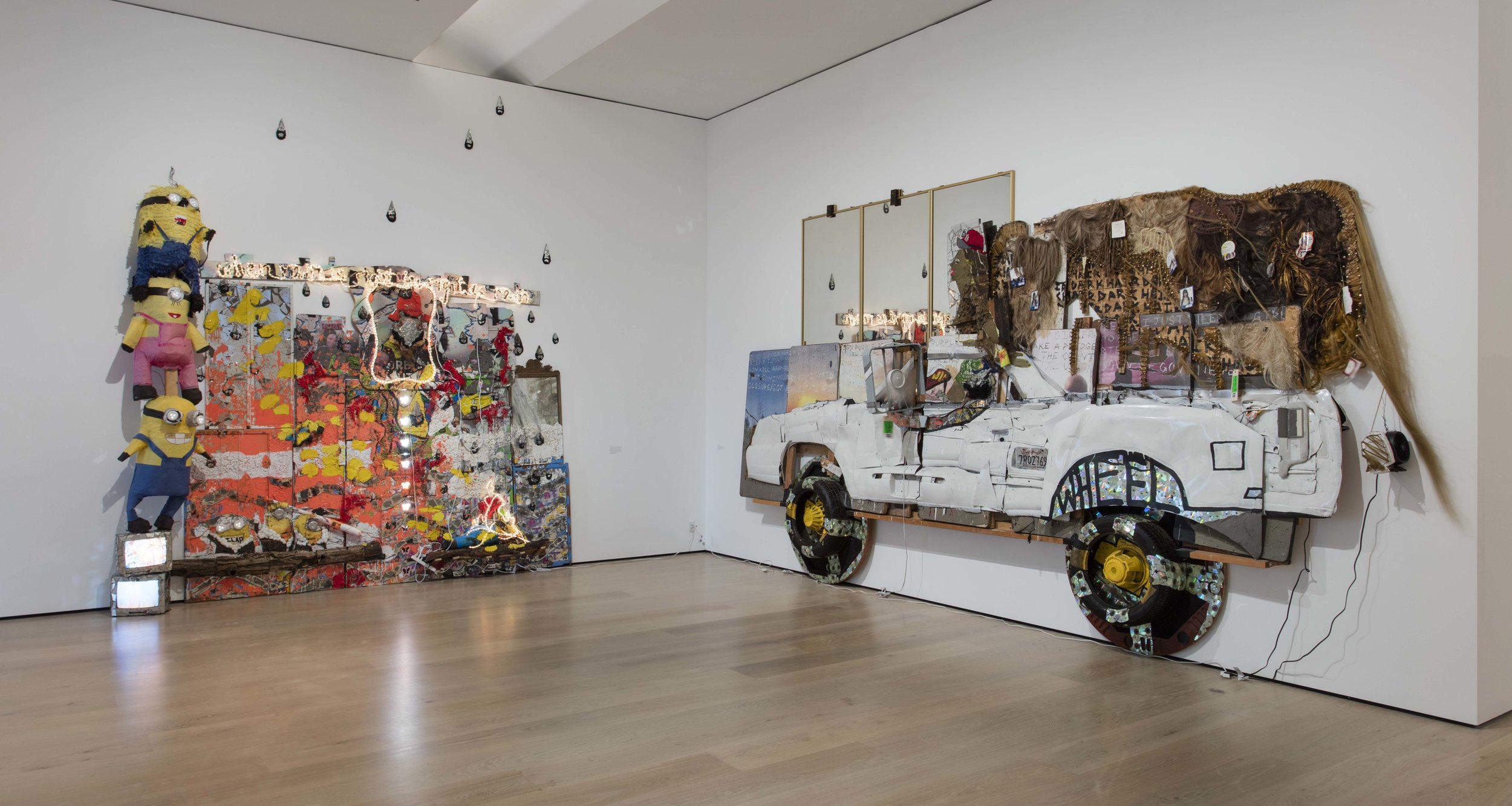 Aaron Fowler, Installation view, Made in L.A. 2018, June 3-September 2, 2018, Hammer Museum, Los Angeles. Photo: Brian Forrest