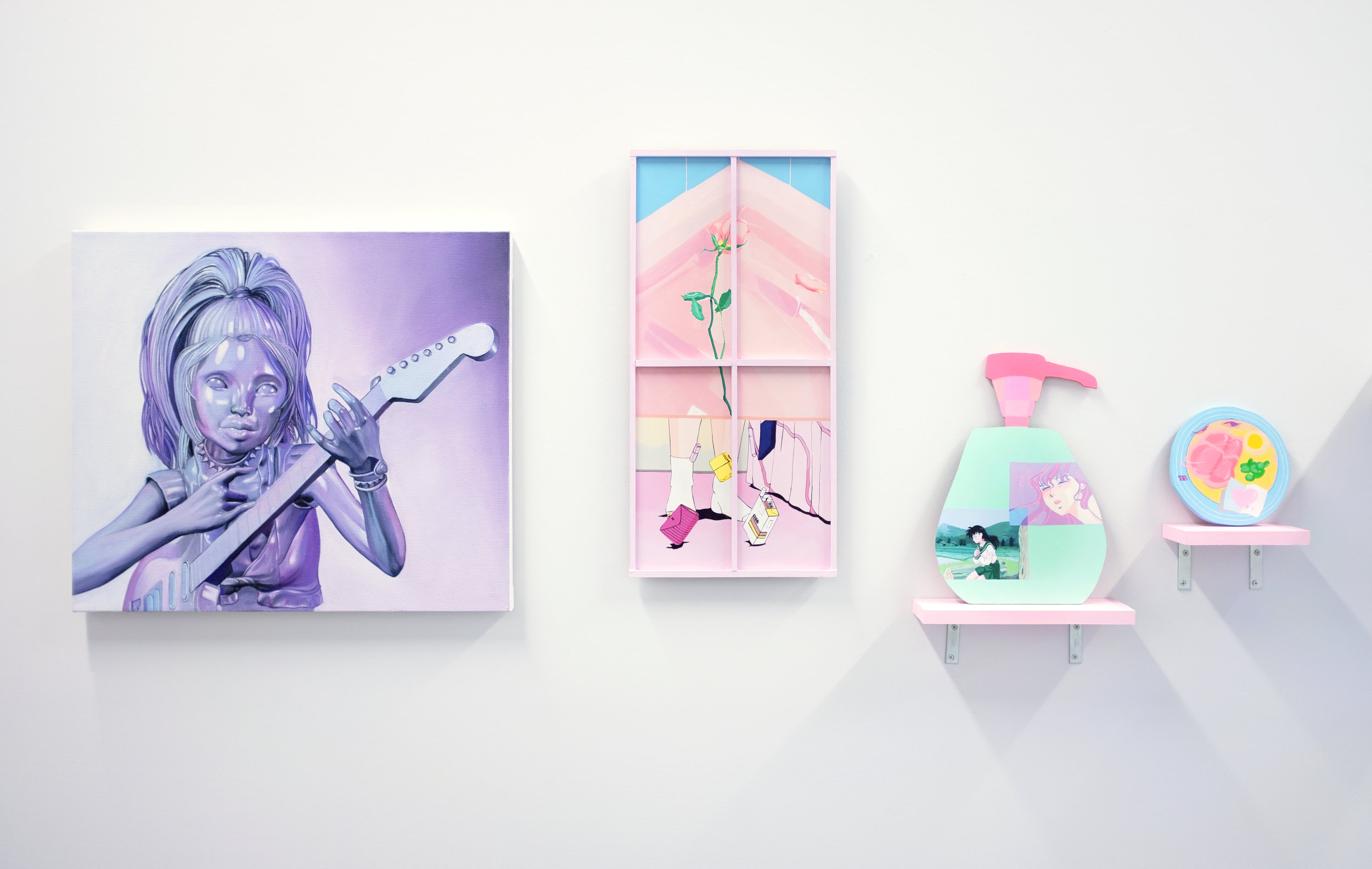Installation view of  Fever Lure.  Image courtesy of Selenas Mountain and the Artist.