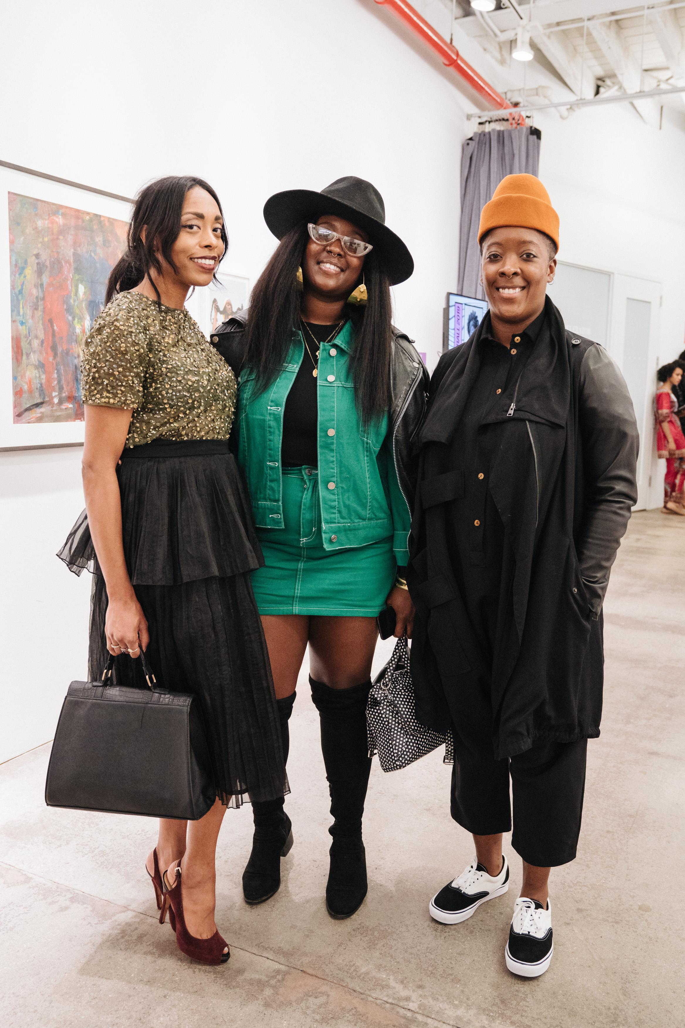 Guests, Nina Chanel Abney. Photo by Johana Rising.