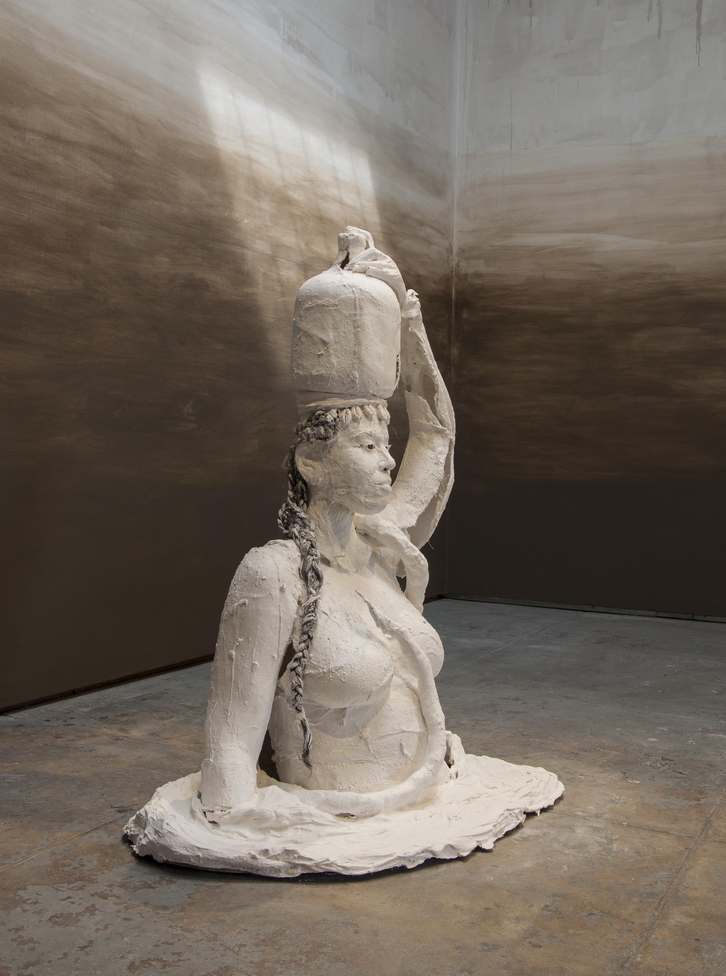 Karon Davis,  Muddy Water.  Courtesy of Wilding Cran Gallery.