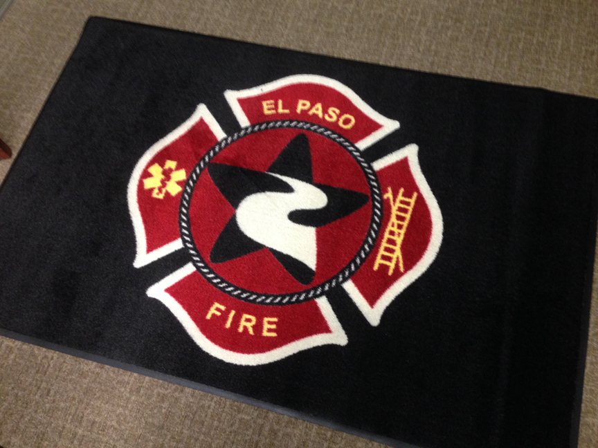 Custom Logo'd Entry Mat