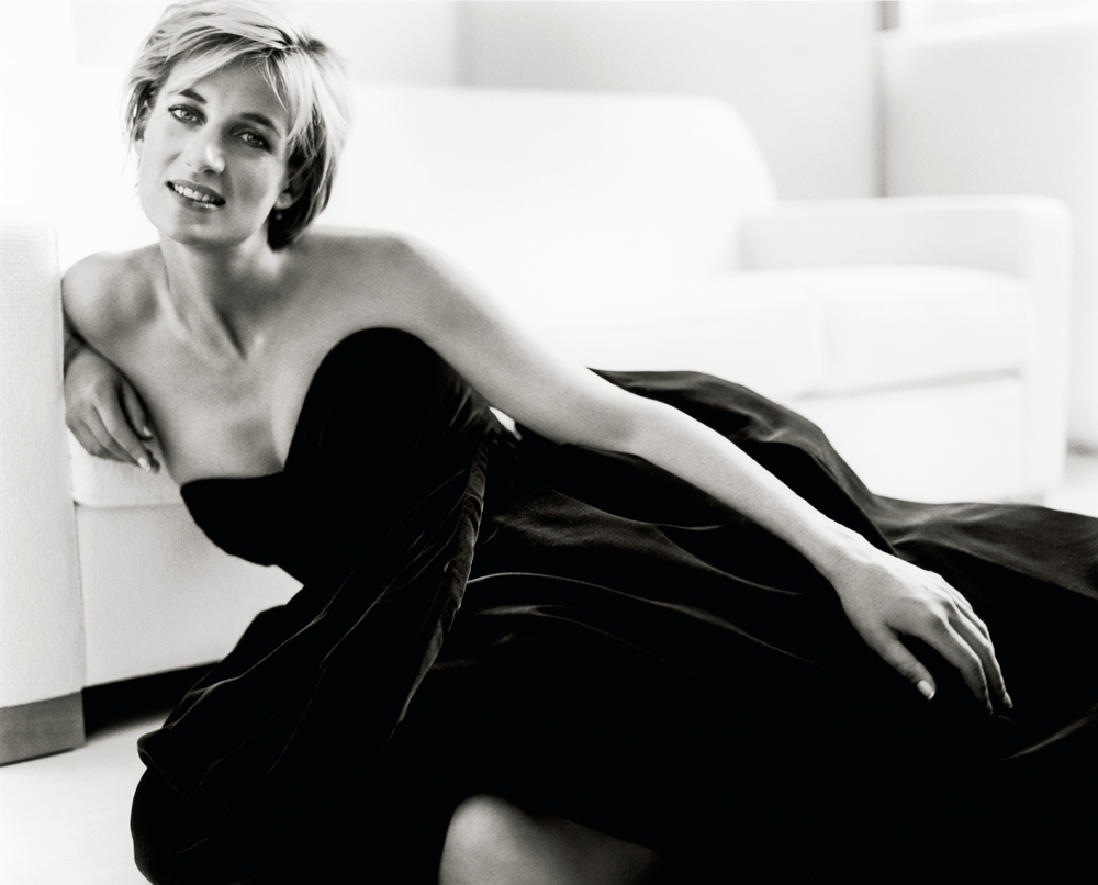 Princess Diana shot by Mario Testino, 1997.