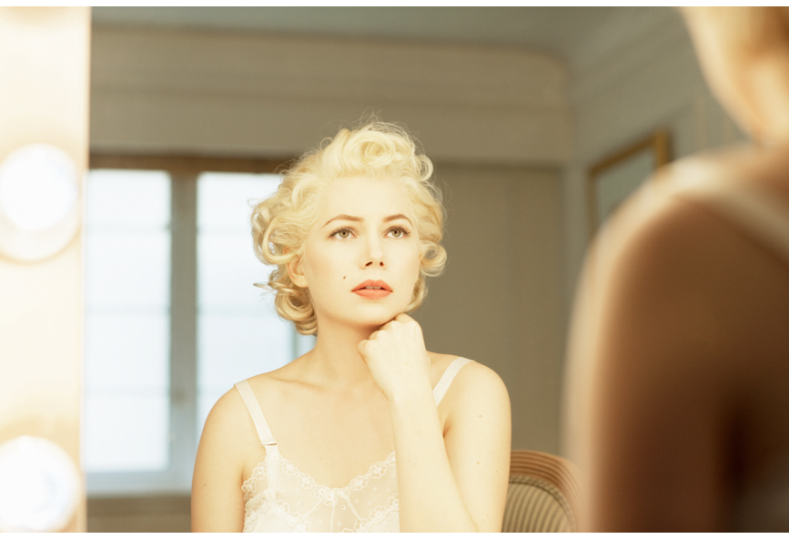 Michelle Williams photographed by Lacombe , 2010.