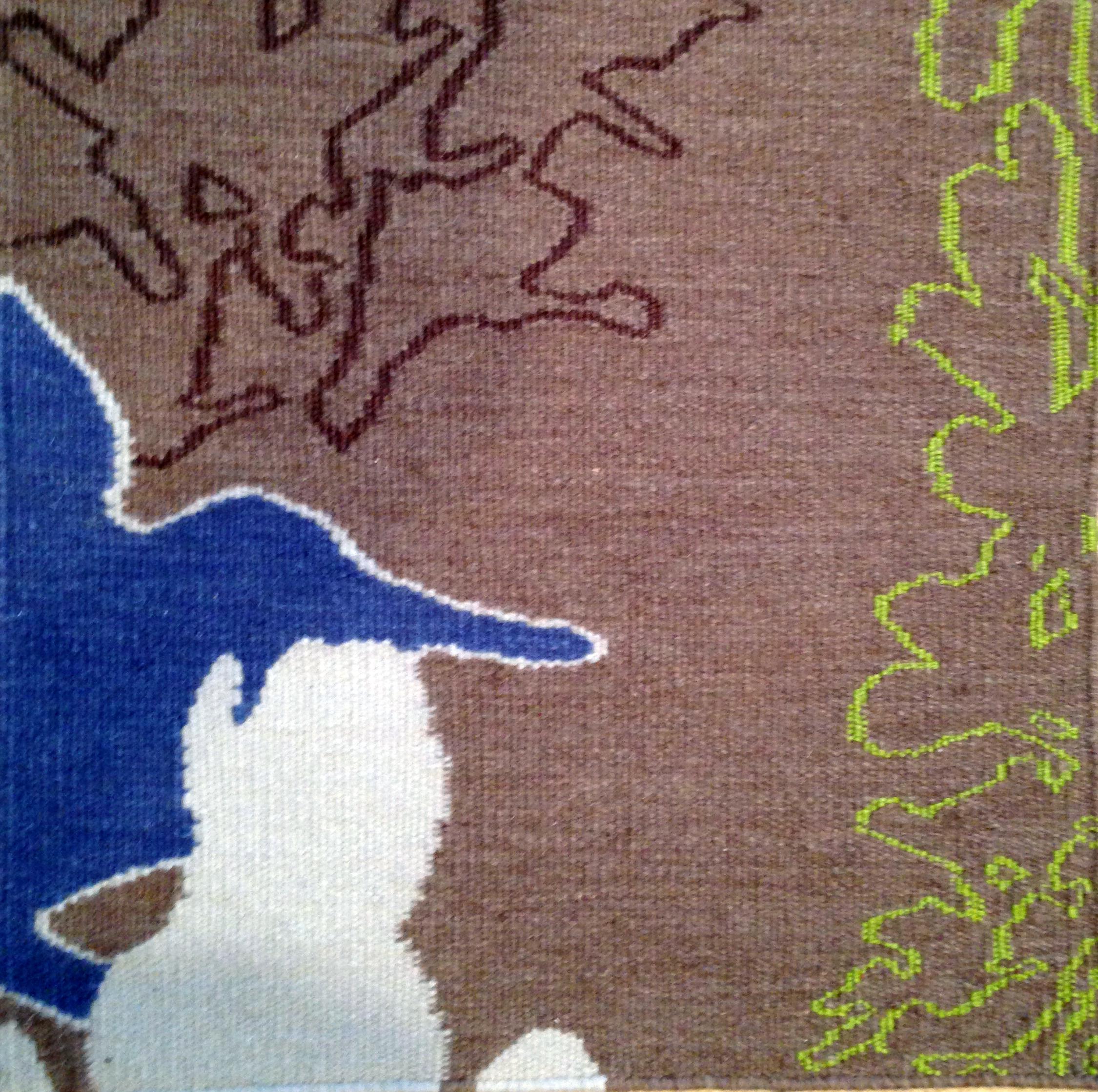 ORCHIDS Cocoa-Lavender - detail