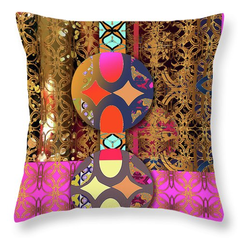PomPoms At The Gate pillow
