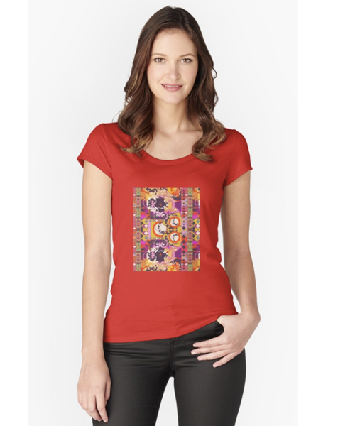 Kelley Fitted Scoop T-Shirt