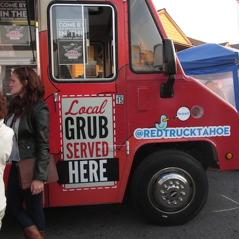 Truckee boasts some great local grub, including Red Truck's crispy falafel.