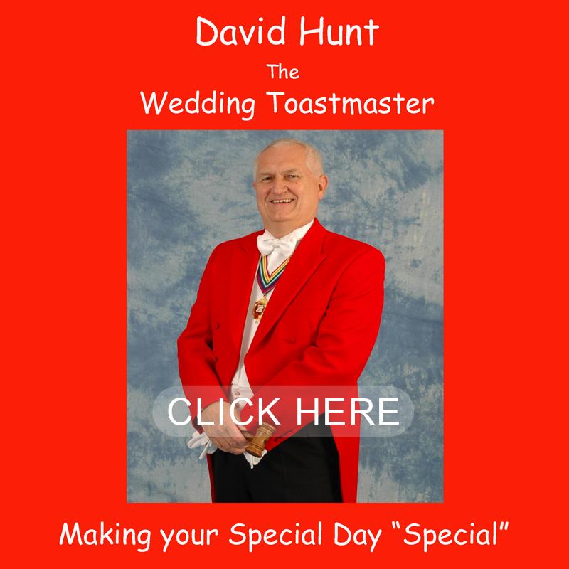 David Hunt Toastmaster