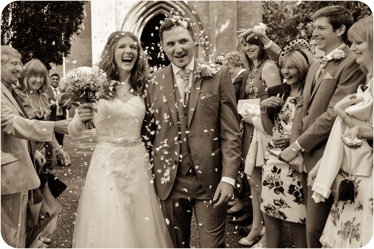 St Catherine's church wedding photographer
