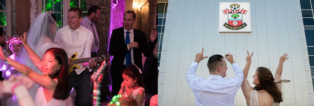 Marriage celebrations in Newbury