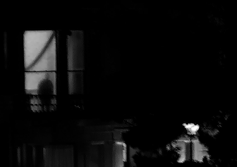 Figure at window