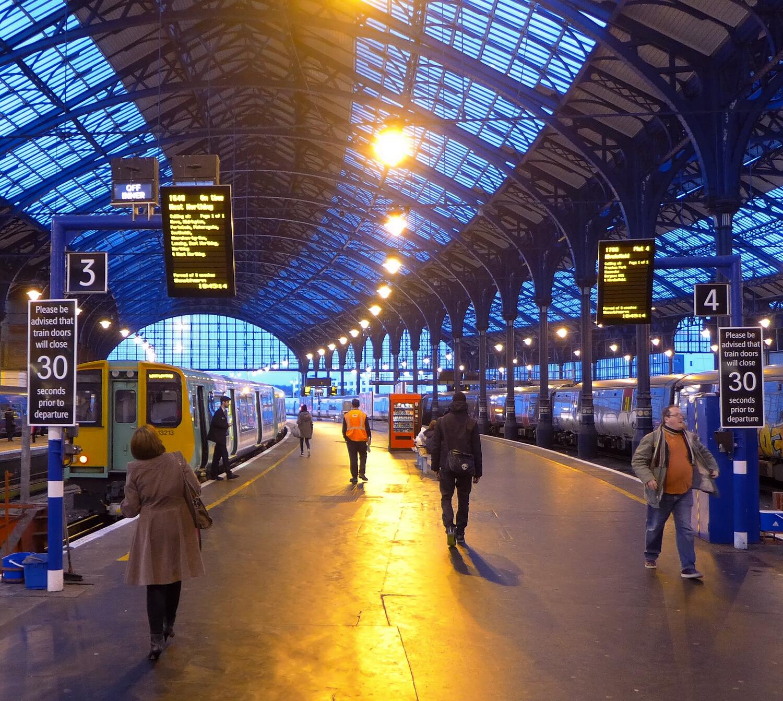 Brighton Station 3