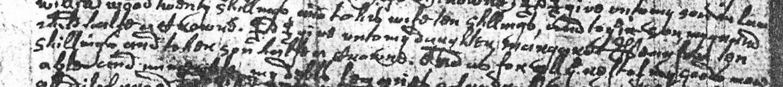 Will of William Dickinson 1677