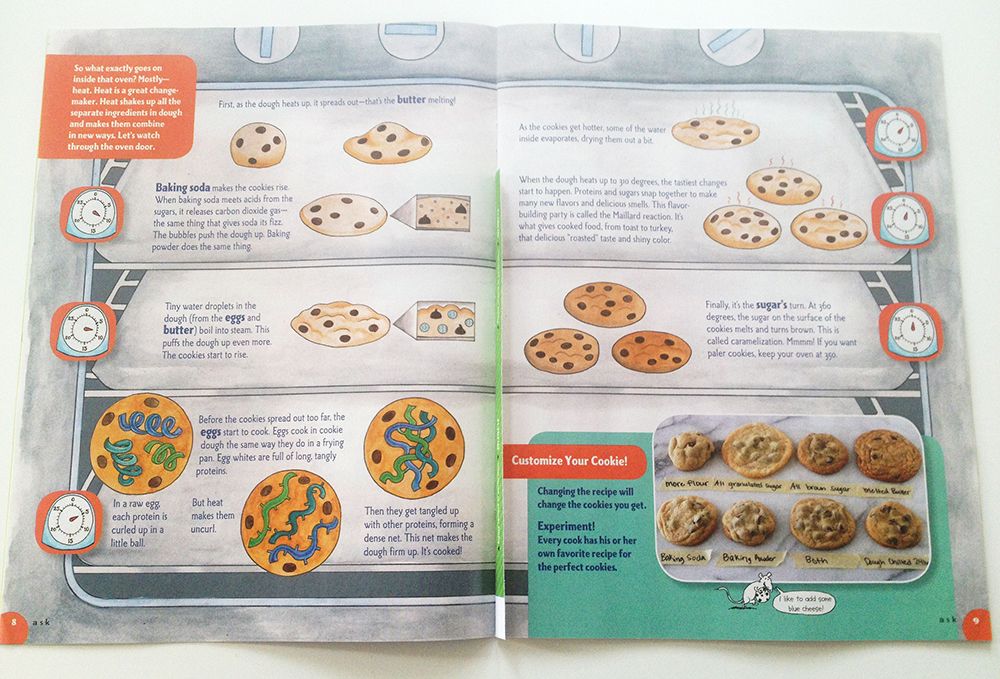 Genuinely very informative on how to make cookies exactly how you want them