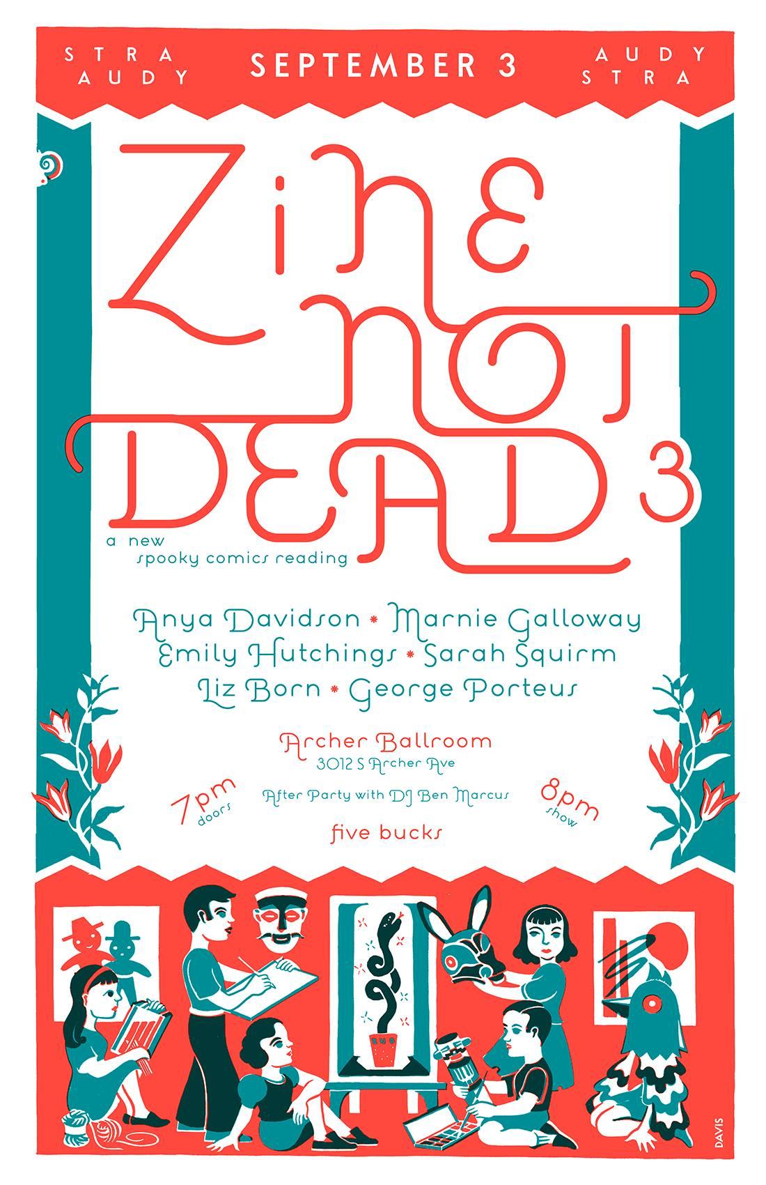 zine not dead 2016