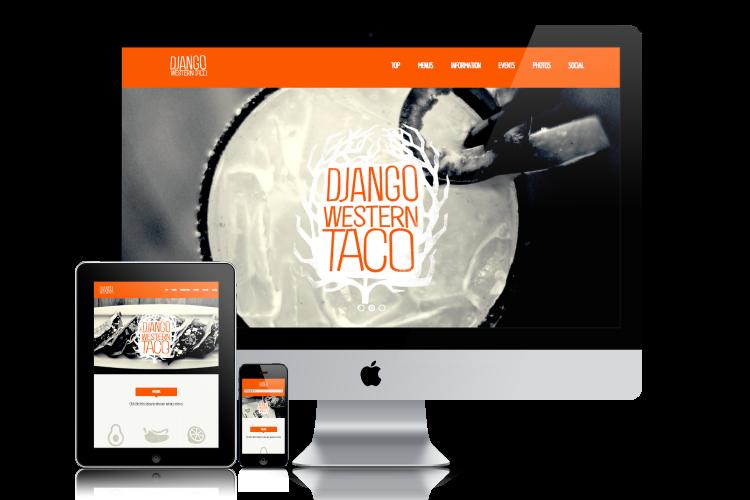 Django Western Taco Website Responsive
