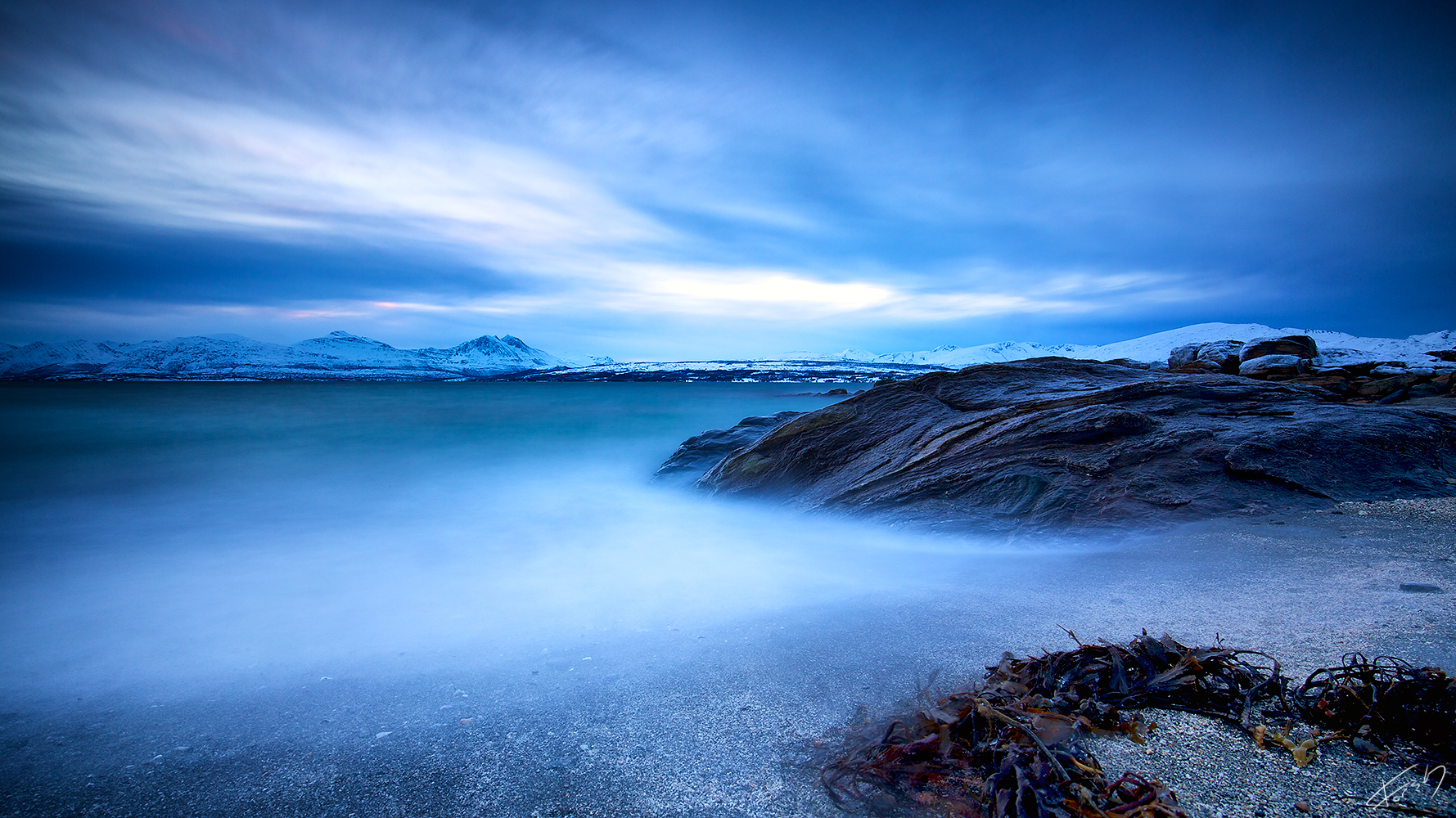 Vinterlys / Winter blues
