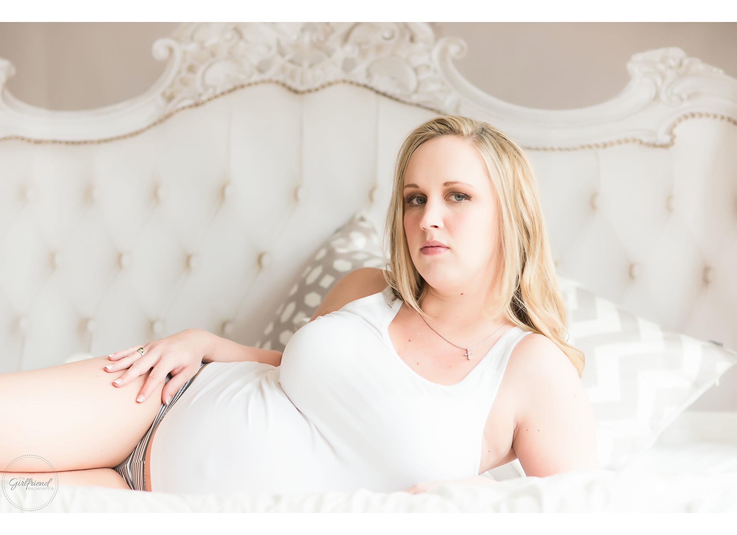 Pittsburgh Boudoir Glamour Maternity Strip District  The Girlfriend Experience Boudoir