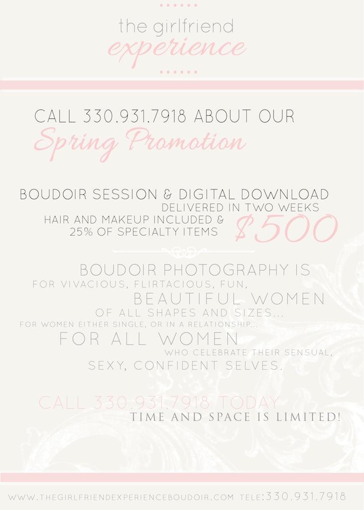pittsburgh boudoir promotion
