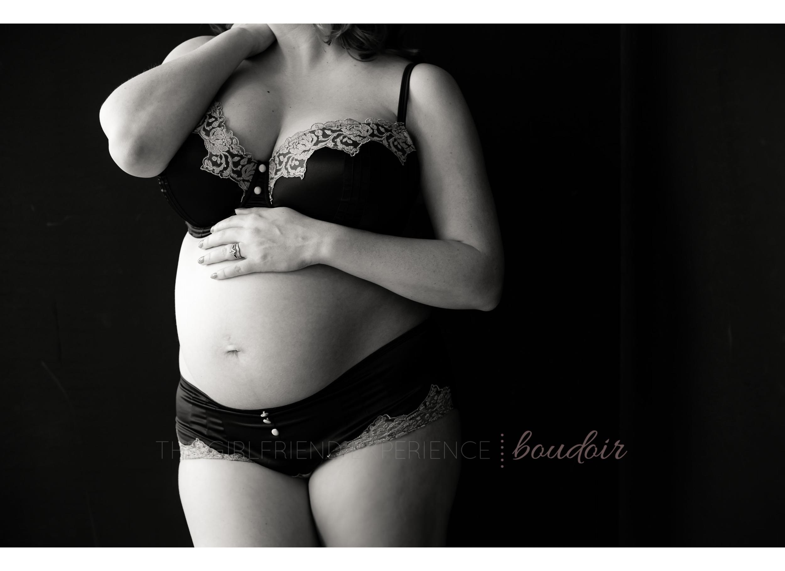 pittsburgh boudoir maternity
