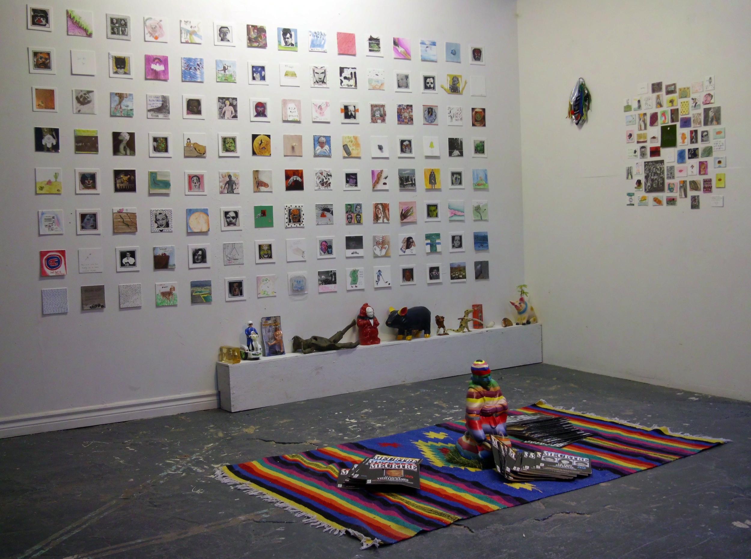Décembre 2015, FAT Gallery, Montréal, en collaboration avec David Bellemare