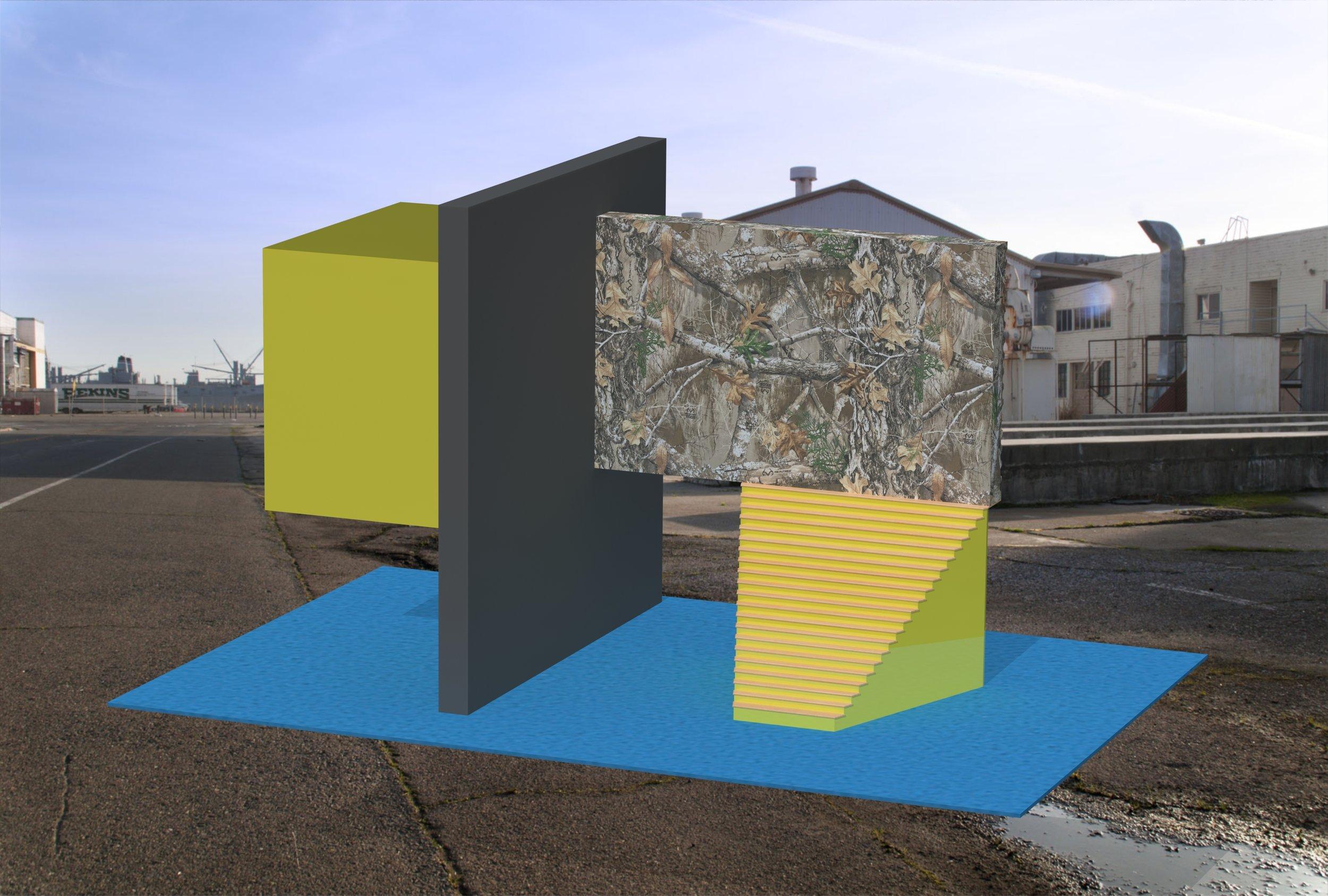 Realtree Realtor -  No2 -  Urban,  virtual Sculpture, 2018