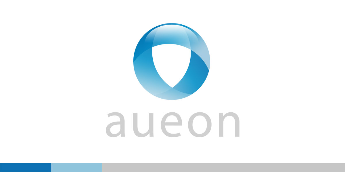 The Head of Research and Genetic Science at T-Gen, contacted me to create the identity for one of his new ventures. Aueon was a three tier effort, so I was inspired to create a 3 ribboned sphere effect