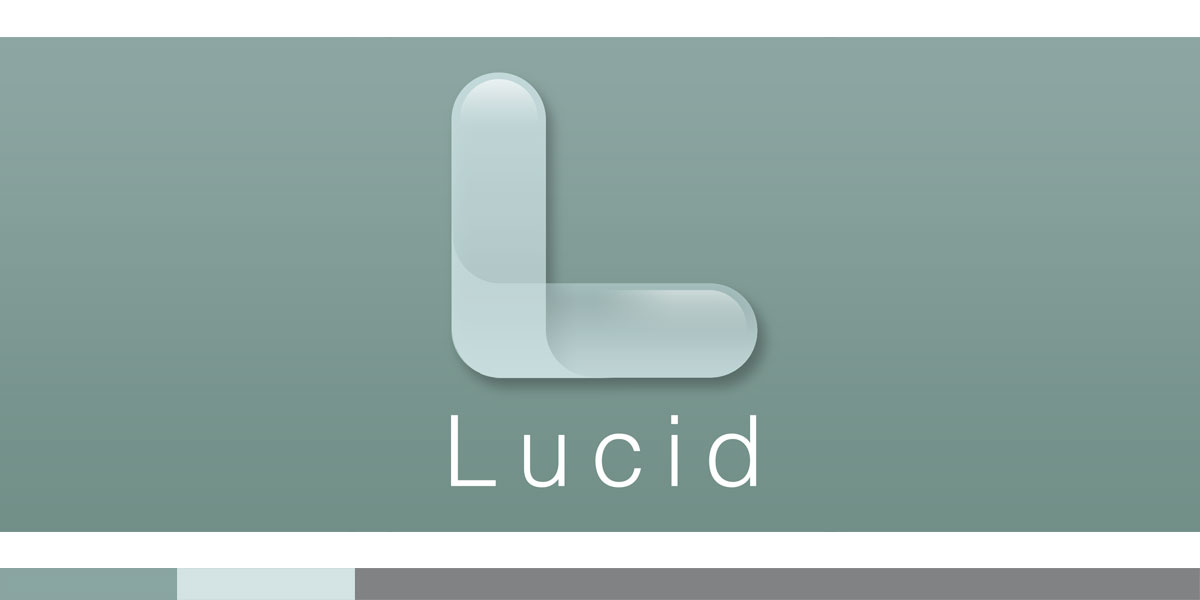 "Lucid was a visualization software tool designed by meltmedia. I wanted a simple transparent ""L"" and whaddaya know, here it is."