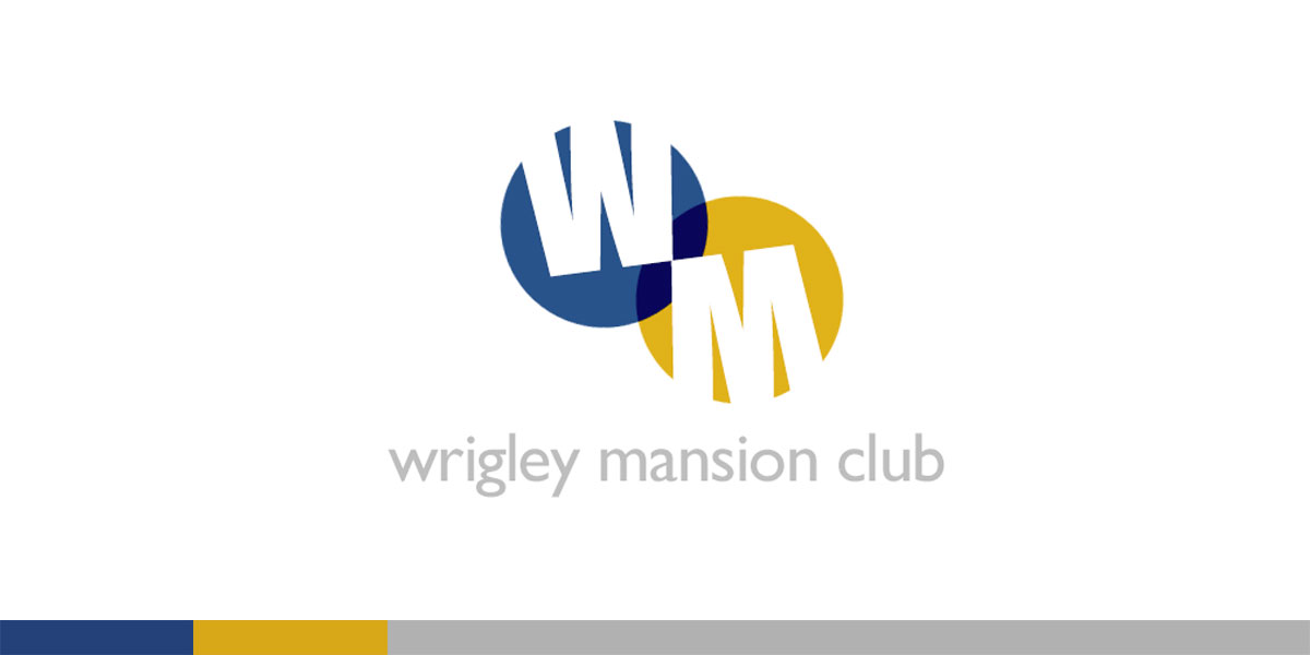 The famous Wrigley Mansion needed an updated identity to establish their remodeled private/public club and restaurant. Simple, playful, clean.