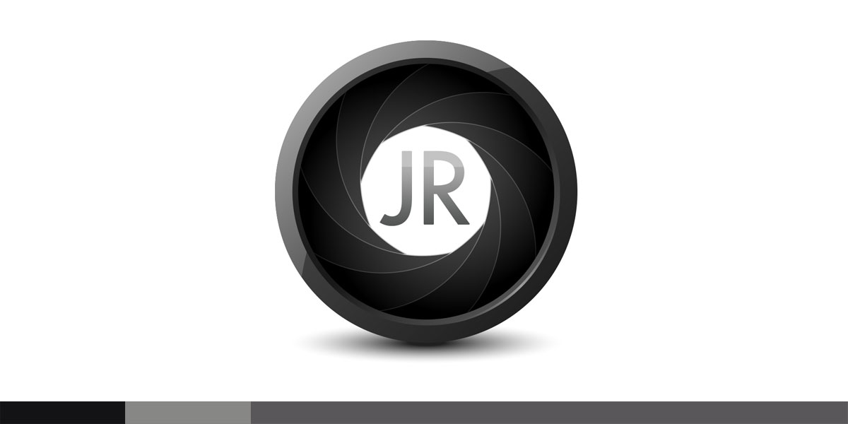 Jordan Rassulo Photography wanted a quick recognizable symbol for their identity. I have always loved the camera iris, so it seemed a no-brainer.