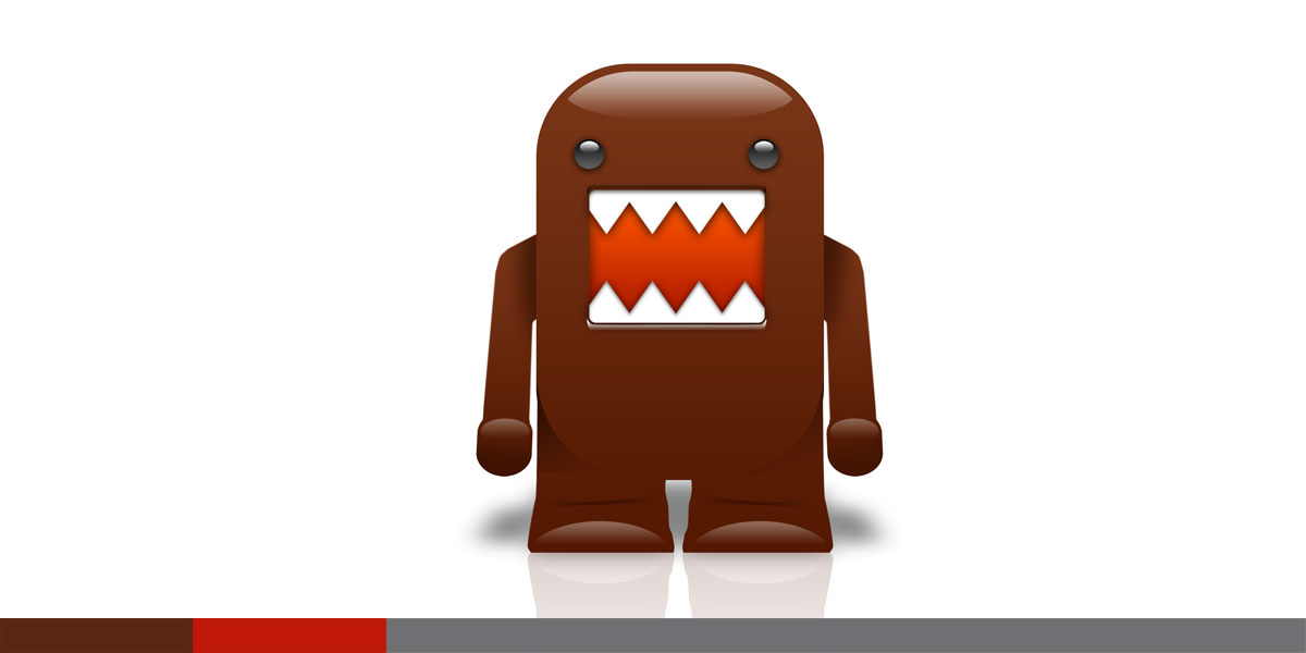 Wow, I didn't invent Domo, I just like him, so I made a PSD domo icon.