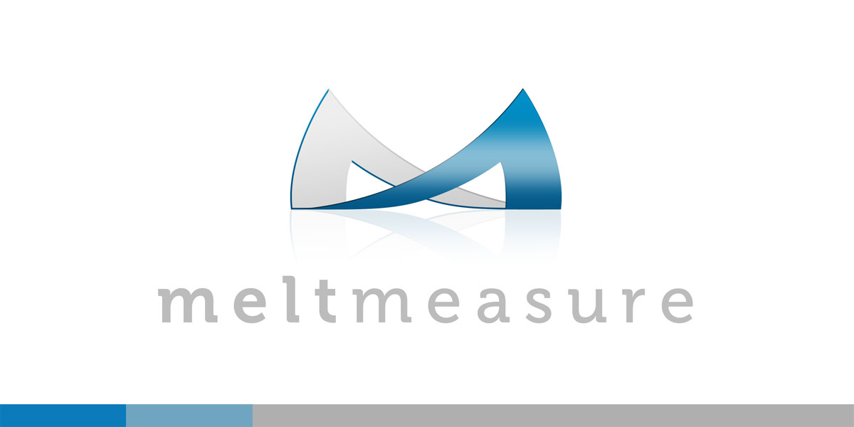 meltmeasure is a division of meltmedia to offer meaningful, story based analytics for websites and business forward applications. The logo was designed to represent a frame of a website, and obviously (hopefully) a letter M.