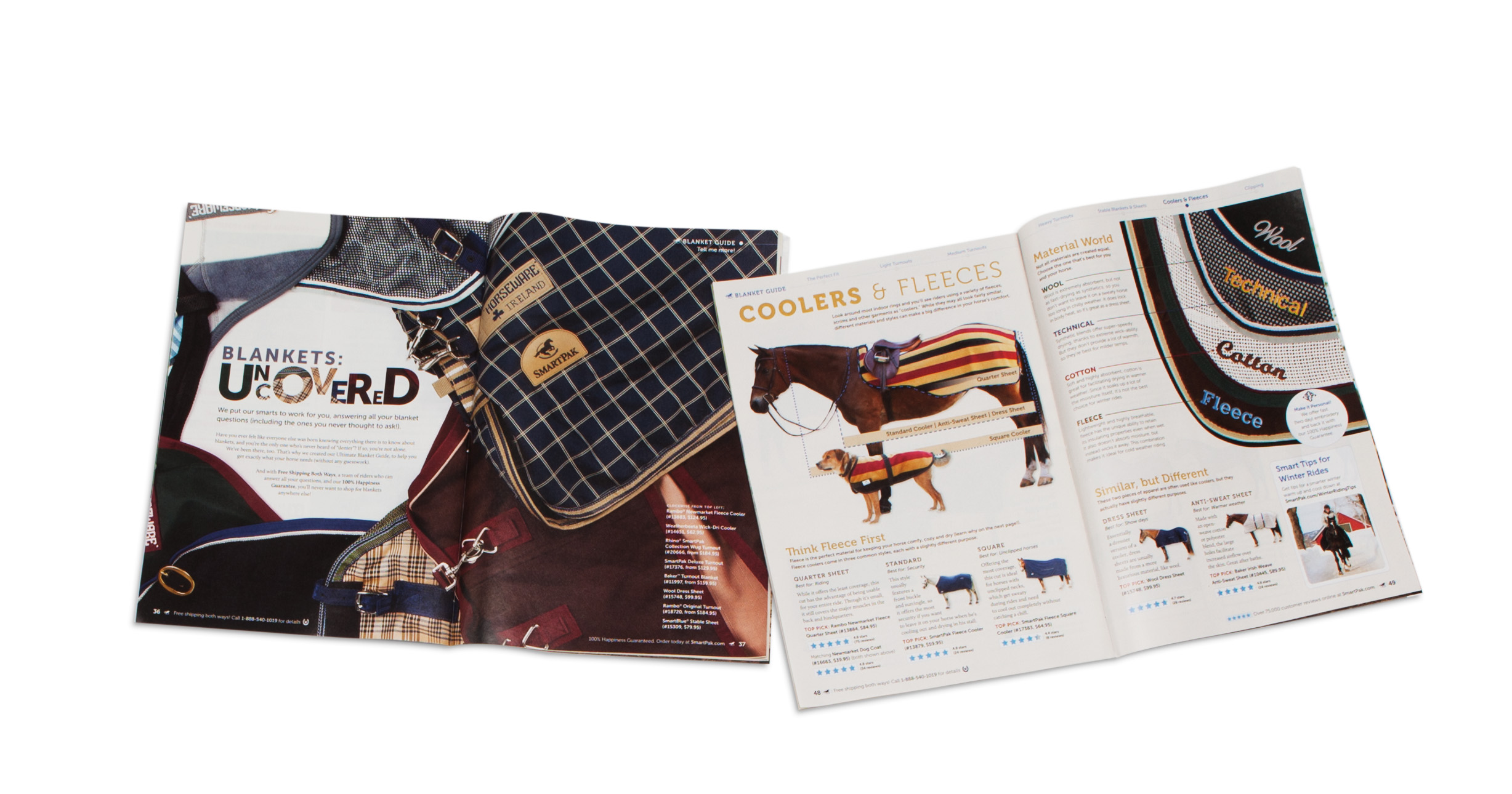SmartPak Equine Blanket Guide