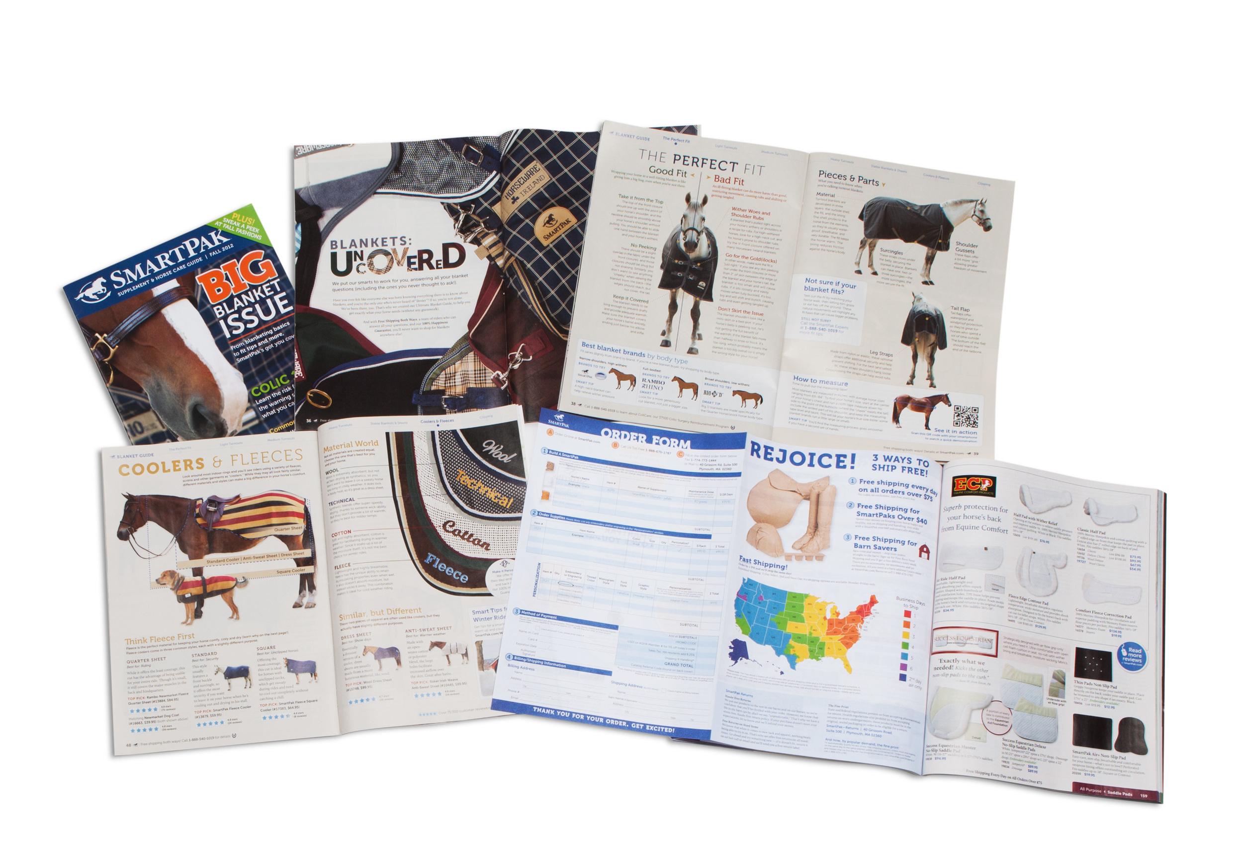 SmartPak Equine Blanket Guide & Order Form