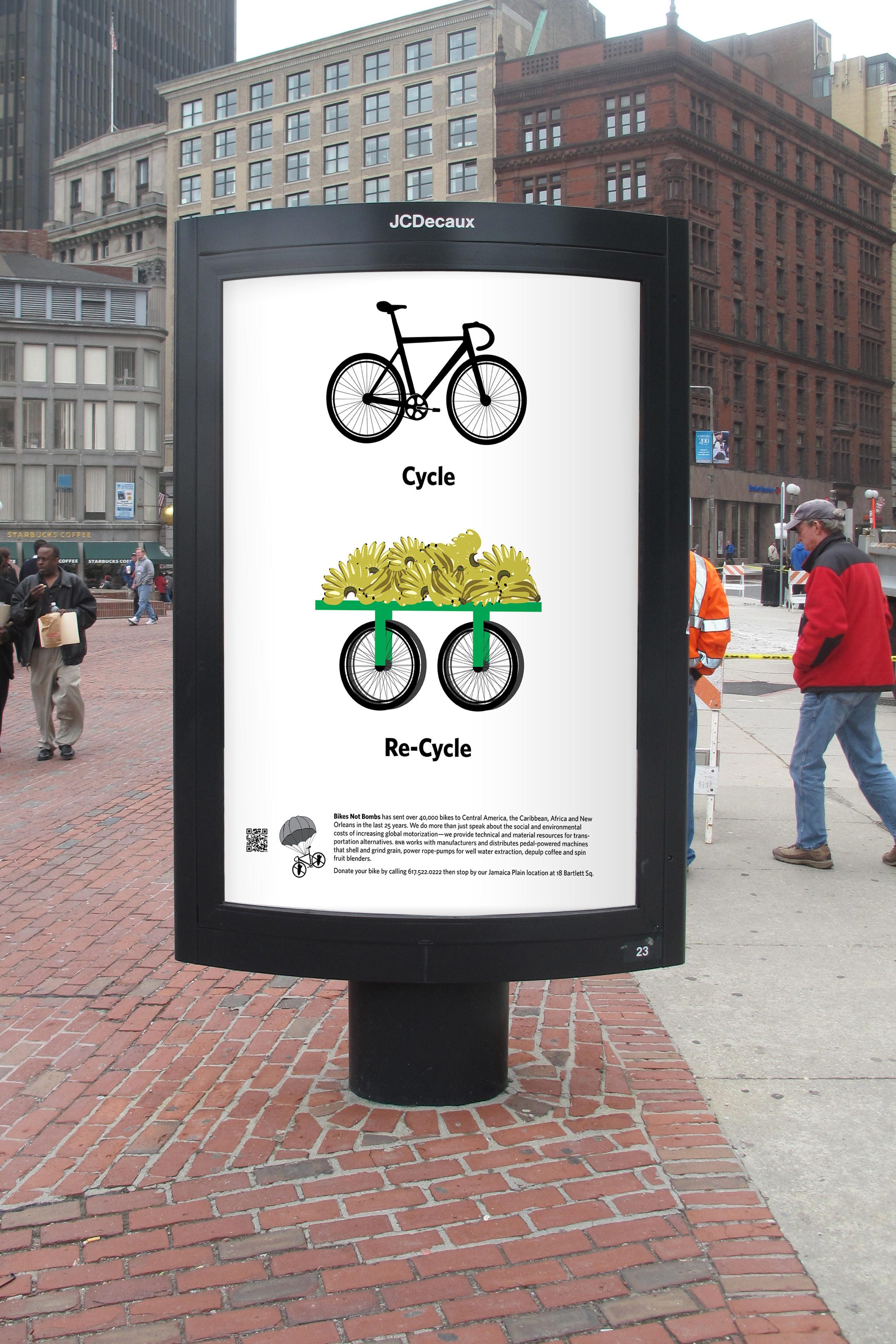 Bikes Not Bombs Campaign