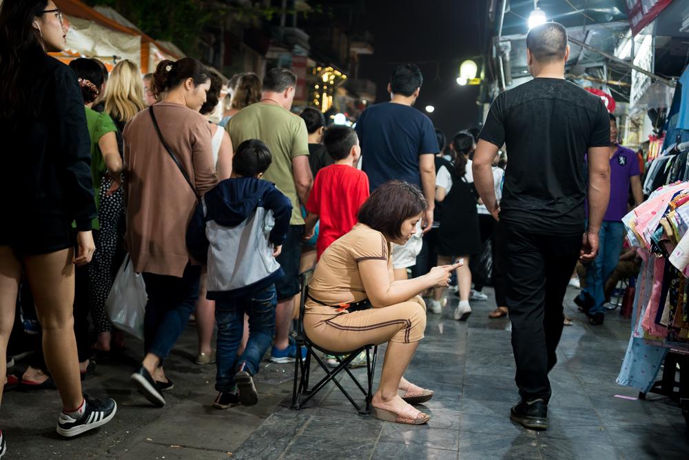 Night Market - Hanoi