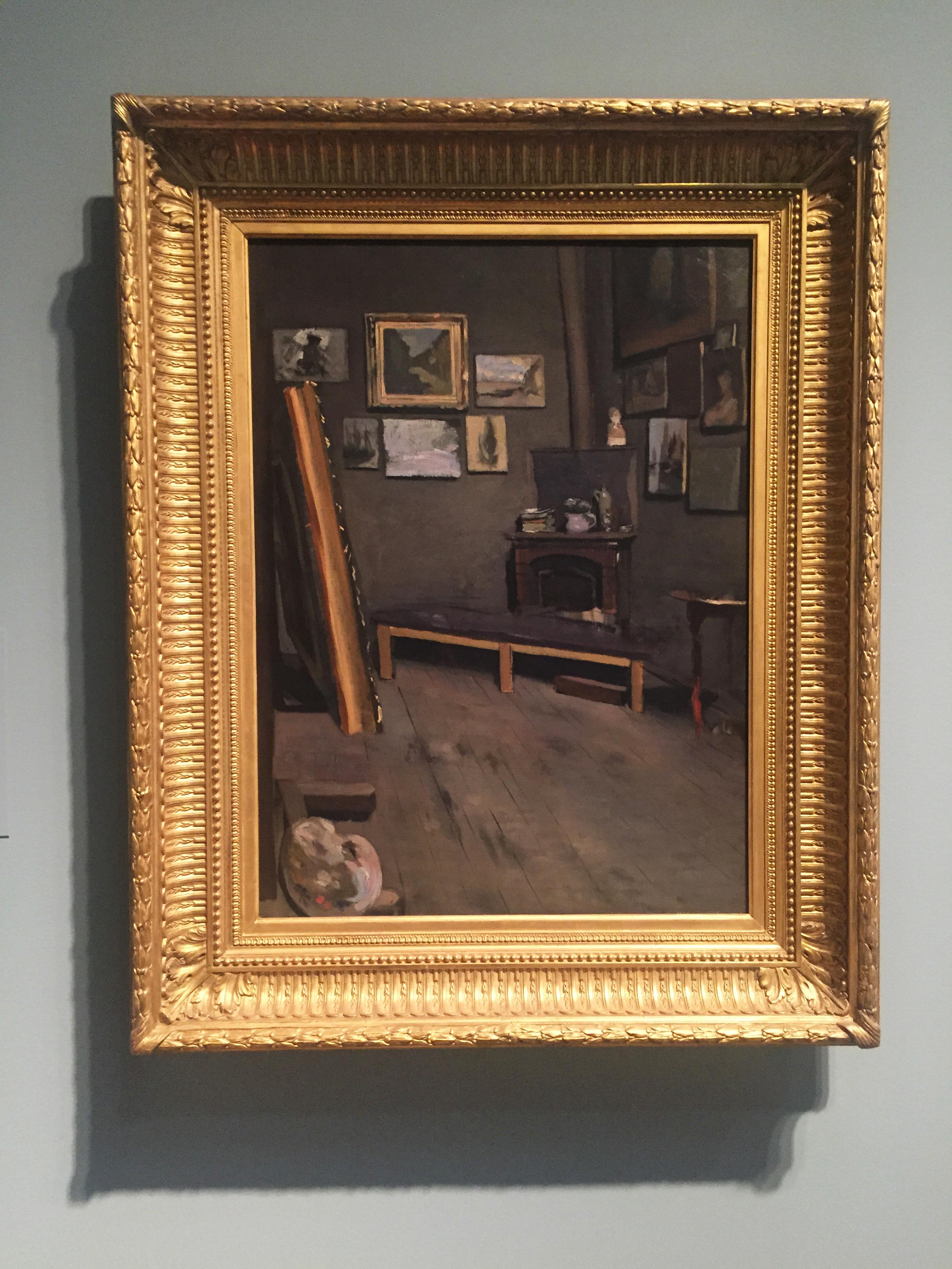 Frederic Bazille | The Artist's Studio, Rue Visconti, Paris | 1867 | VMFA